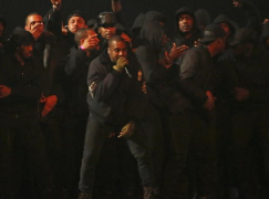 "Kanye West Performs ""All Day"" at the 2015 BRIT Awards"
