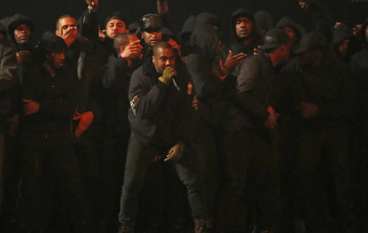 """Kanye West Performs """"All Day"""" at the 2015 BRIT Awards"""