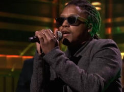 Lupe Fiasco Performs Little Death (Live On Jimmy Fallon)