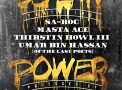 DJ EFN – Power ft. Sa-Roc, Masta Ace, Thirstin Howl The 3rd & Umar Bin Hassan