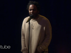 "Kendrick Lamar Performs ""These Walls"" on 'Ellen'"
