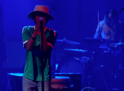 Raury Live on The Late Show with Stephen Colbert