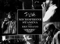 J-Live – Microphone Stamina ft. Ekundayo