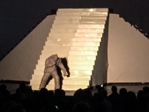 Kanye Brings Snow to Los Angeles