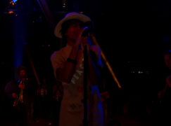Raury Live On The Late Late Show with James Corden
