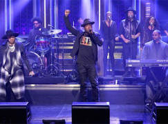 Talib Kweli & Rapsody on The Tonight Show