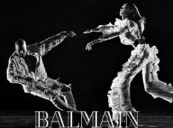 Kanye West Stars in Balmain's New Campaign
