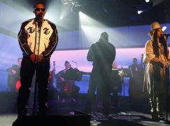 """Nas & Erykah Badu Perform """"This Bitter Land"""" On 'Kimmel'"""