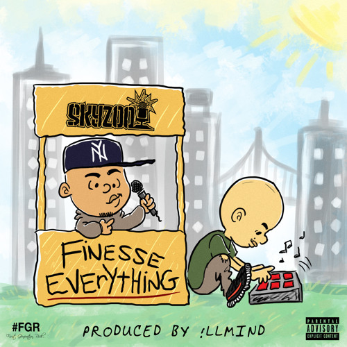 Skyzoo - Finesse Everything (prod. !llmind)