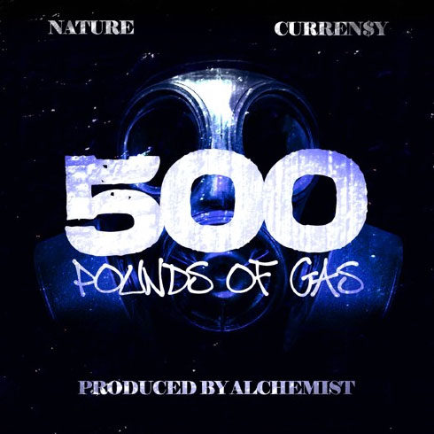 Nature - 500 Lbs Of Gas ft. Curren$y (prod. Alchemist)